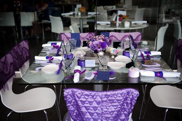 wedding shower decorations purple decoration purple gold for wedding