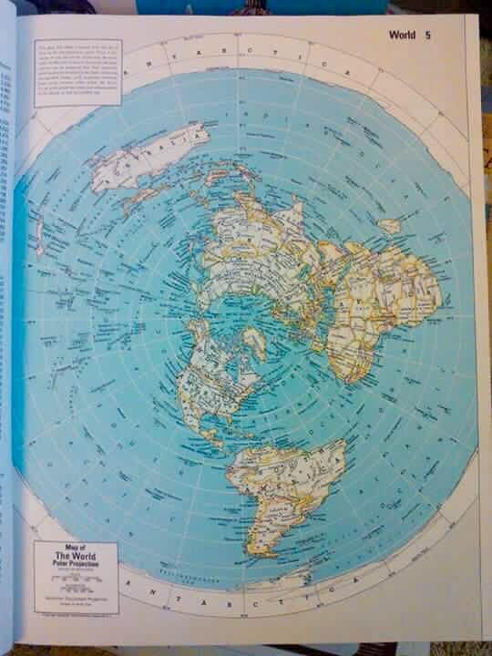 Two flat earth world maps shared by mark golter on facebook with two flat earth world maps shared by mark golter on facebook with accompanying text gumiabroncs Gallery