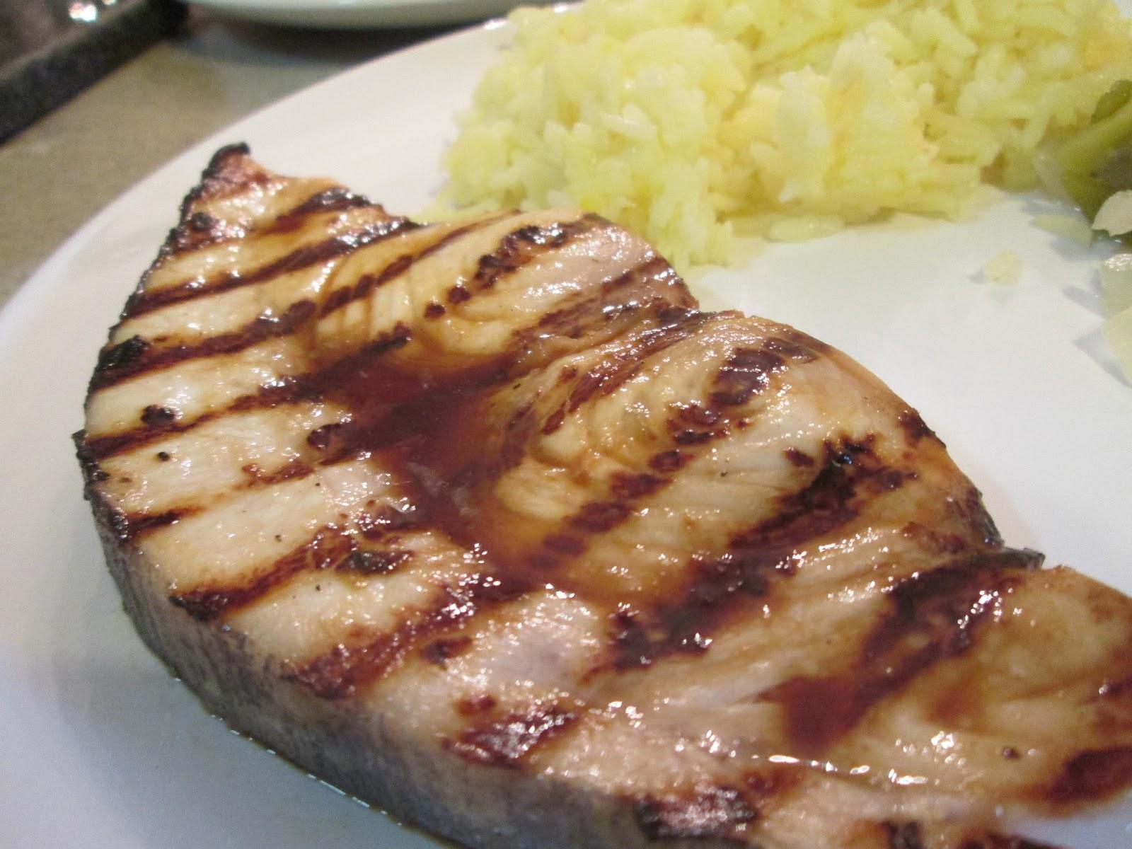 Corcoran Street Kitchen: Marinated Swordfish Steaks