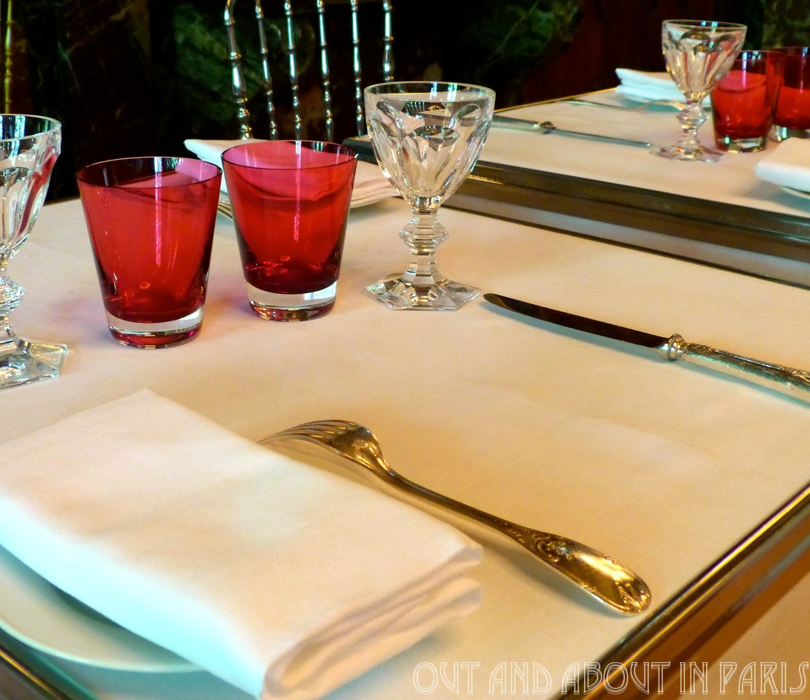 A table for two at La Cristal