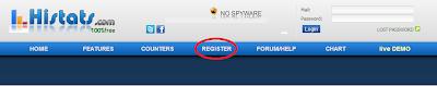 Registrasi Histats 1