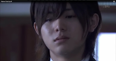 He even looks cute when crying :')