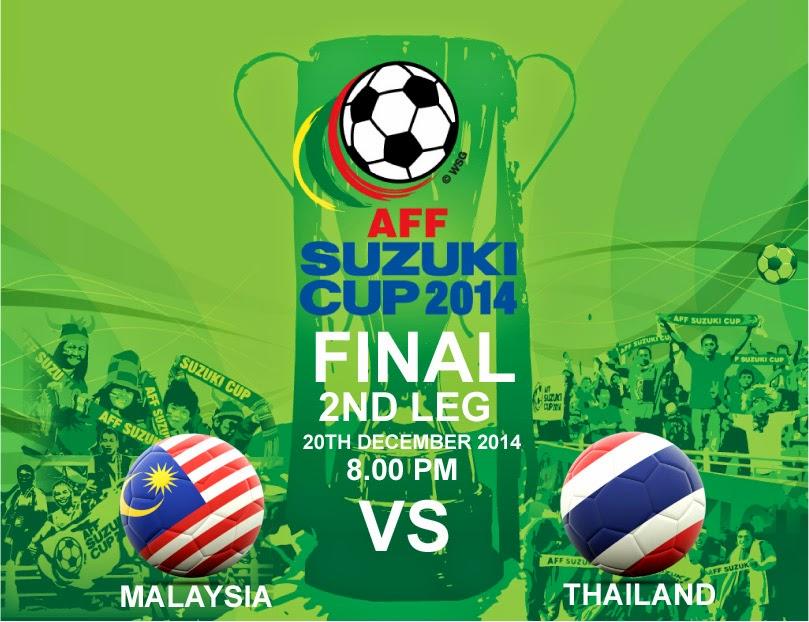 Tiket Online Malaysia vs Thailand