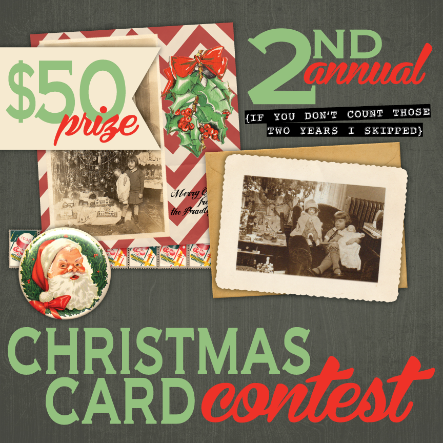 Confessions of a Paper Freak: 2nd Annual Christmas Card Contest