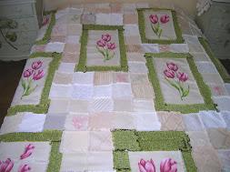 Colcha de Tulipanes