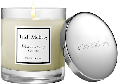 Trish McEvoy, Trish McEvoy candle, Trish McEvoy Wild Blueberry Vanilla Candle