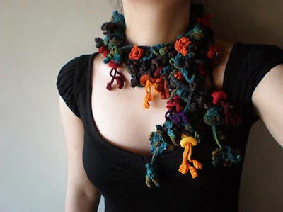 Creative Scarves and Unusual Scarf Designs (15) 15