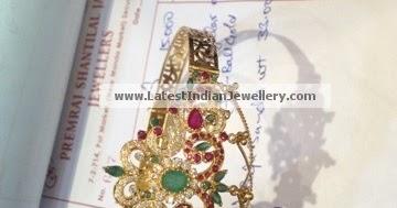 Baju Bandh Arm Band With Gemstones