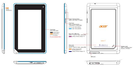 Acer Iconia B1 Tablet 7 Inci Murah dengan Jelly Bean, Acer Iconia B1