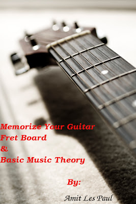 Memorize Your Guitar Fret Board & Basic Music Theory |Amit Les Paul