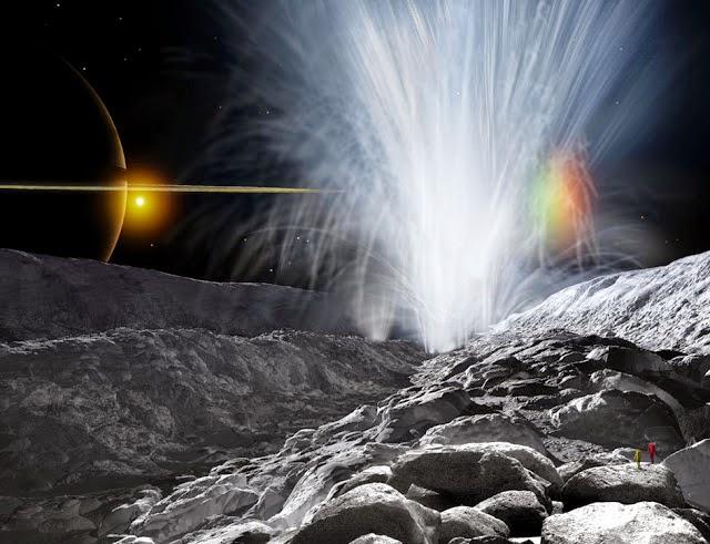 4. Geyser Enceladus
