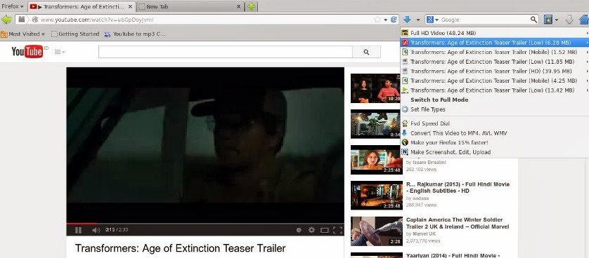 cara download video streaming youtube