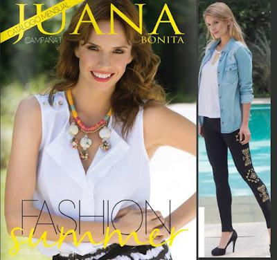 Juana Bonita catalogo enero 2016
