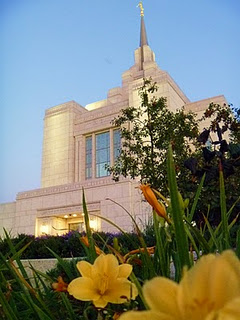 Dallin took this beautiful picture of the temple!
