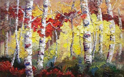 autumn rhythm painting