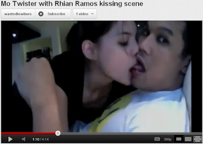 kissing scandal youtube video rhian ramos dj mo twister
