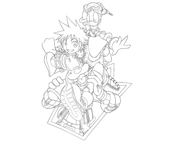 #11 Sora Coloring Page