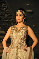 Charmi Kaur looks Beautiful in Traditional Salwar Walks Ramp