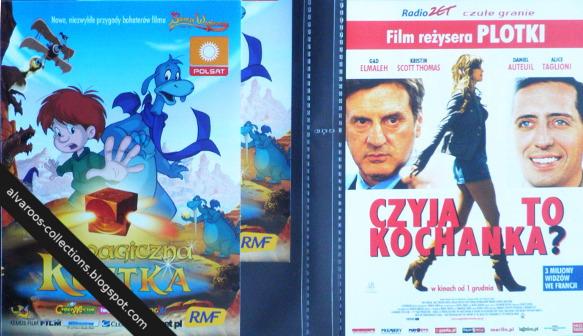 movie flyers - El Cubo Magico, La Dublure