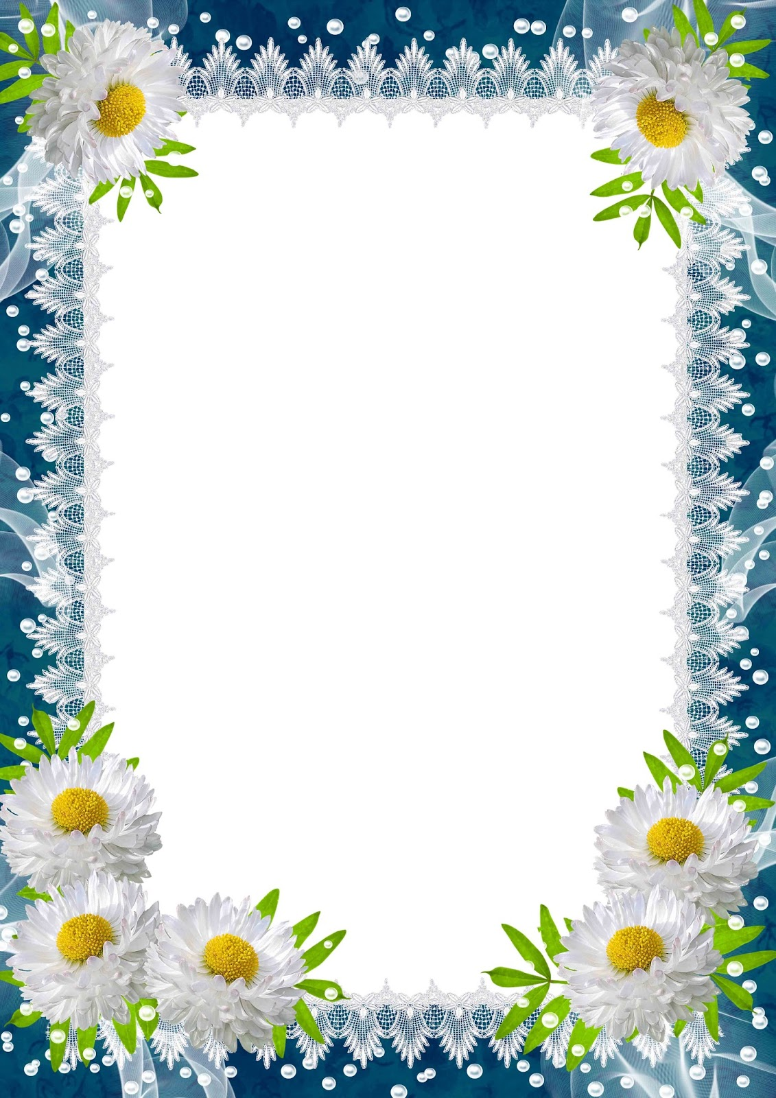 flowers frame  flowers frame