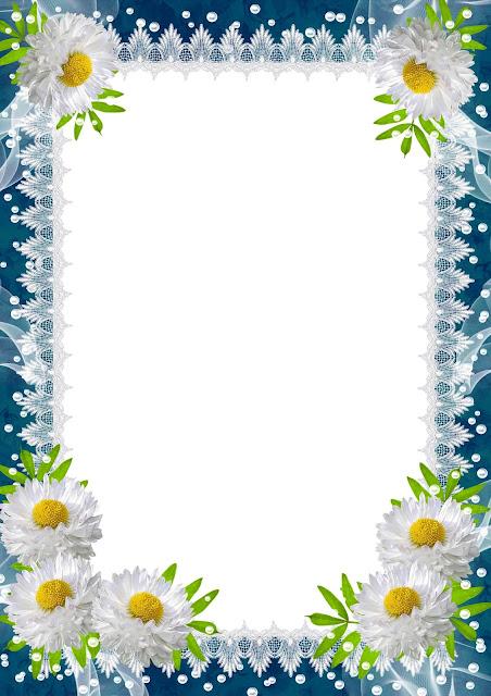 flower frame | Your Blog Description