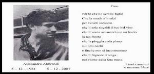 ALESSANDRO ALIBRANDI PRESENTE !