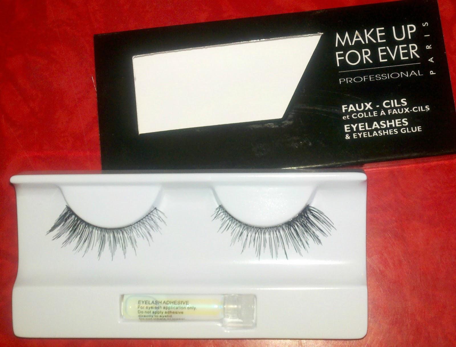 Beauty Test Dummies Make Up Forever False Eyelashes No 156 Genevieve
