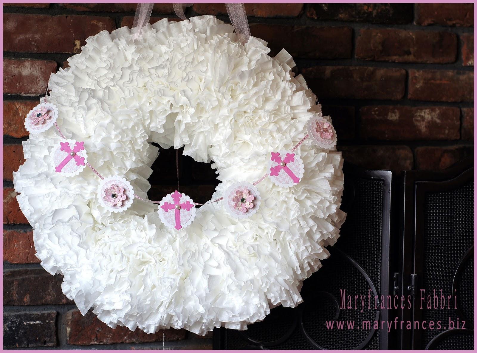 Maryfrances Fabbri First Communion Wreath