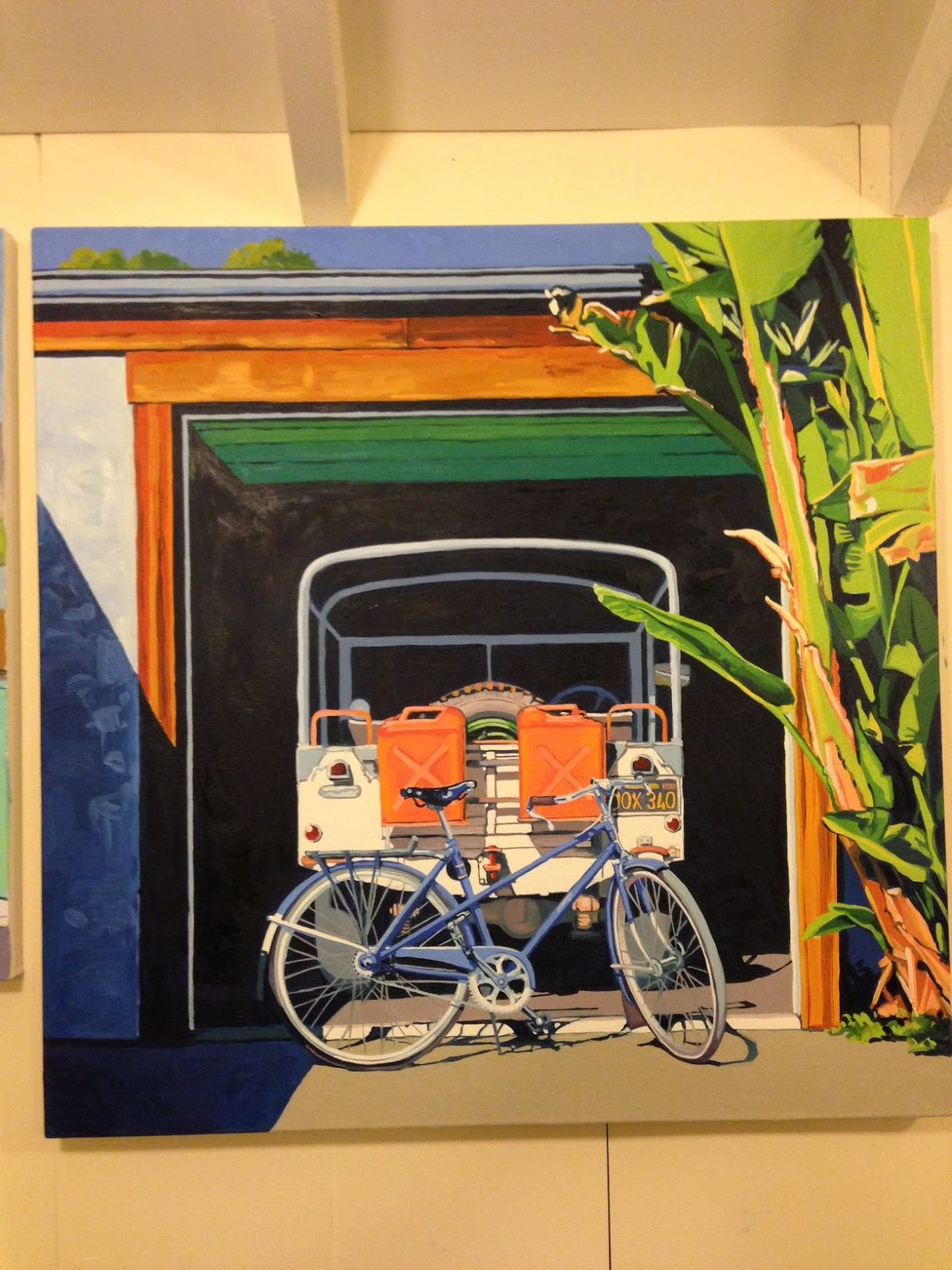 The Velo Orange Blog Cynthia S Paintings And Eric S Bikes
