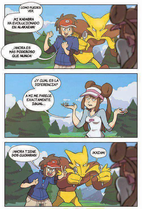 logica pokemon - Kadabra evoluciona a Alakazam