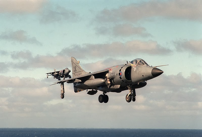Sea Harriers FRS.1 from 800 Naval Air Squadron