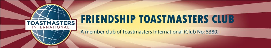 Friendship Toastmasters Club