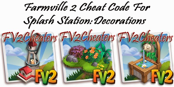 Farmville 2 cheaters farmville 2 cheat code for 39 splash for Farmville 2 decorations