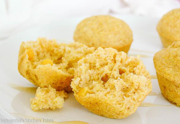 Wholegrain Cornbread Bites