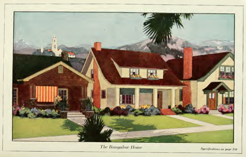 Early 1900s Craftsman Bungalow House Colors
