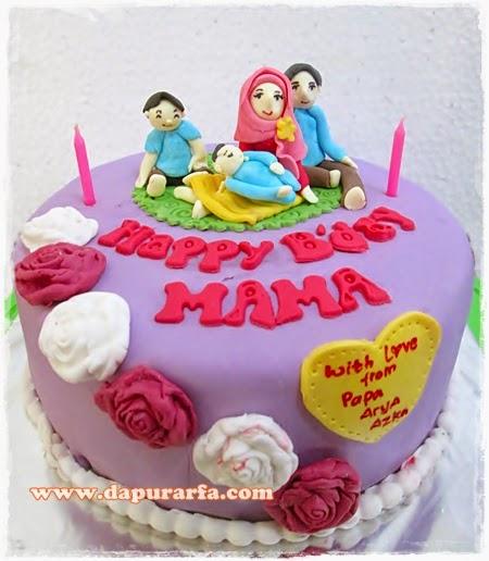 Dapur arfa kue ulang tahun untuk mama for Dekor ulang tahun