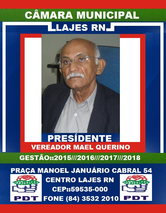 VEREADOR MAEL QUERINO LAJES RN