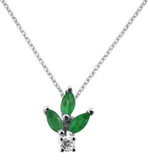 Zümrüt Kolye - Emerald Pendant