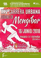 XXV CARRERA URBANA DE MENGIBAR 2018