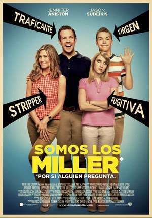 Poster We're the Millers Extended 2013