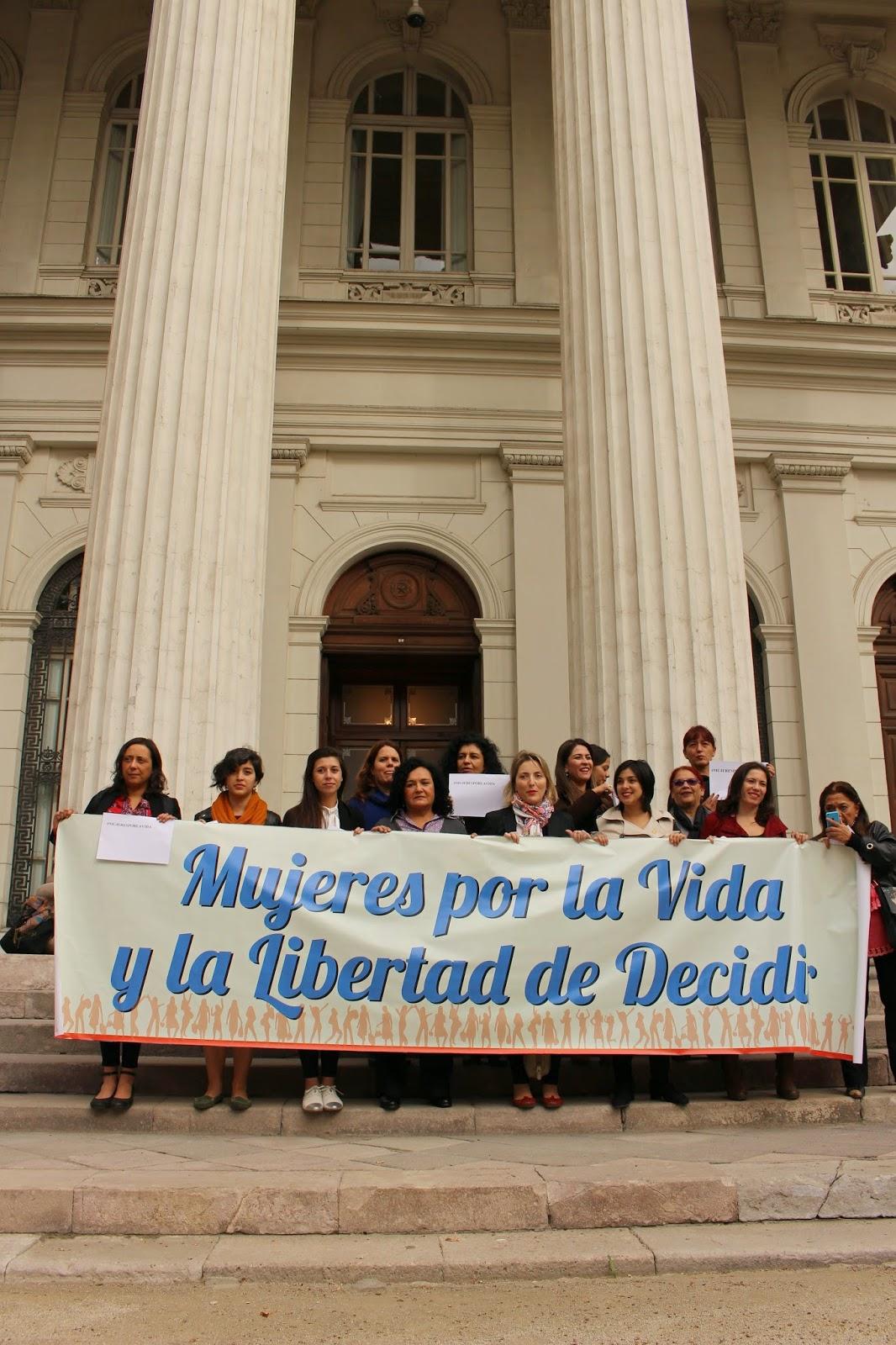 """""""Mujeres por la Vida y el Derecho a Decidir""""  llaman a apoyar proyecto interrupción del embarazo bajo tres causales"""