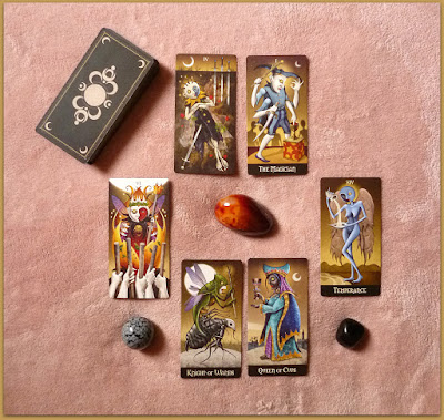 Deviant Moon Tarot Shadow work spread