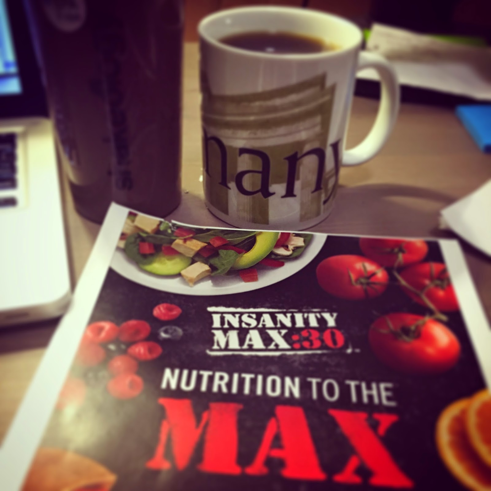 Insanity Max 30 Nutrition Guide and Meal Plan, Melanie Mitro, Progress update