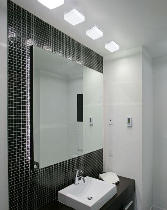 Ana Sales Arquitetura & Interiores Tendência Pastilhas -> Banheiro Com Acabamento Em Pastilhas