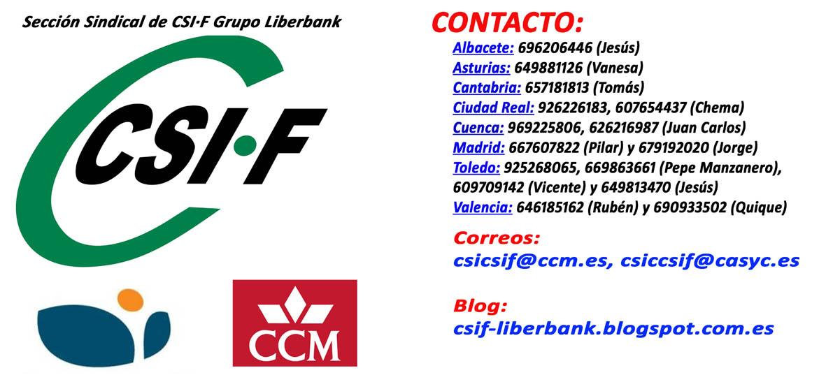 Sección sindical de CSI·F en Grupo Liberbank