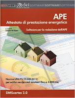 APE. Attestato di prestazione energetica. Software per la redazione dell'APE. Norme UNI/TS 11300:2014 per edifici residenziali esistenti fino a 3.000 mq.