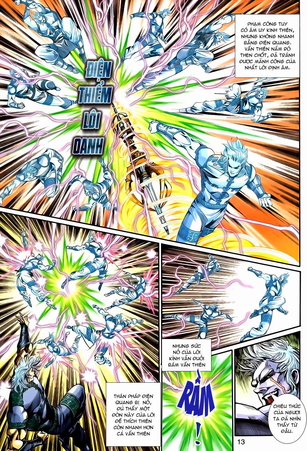 Thần Binh Tiền Truyện 2 chap 21 Trang 13 - Mangak.info