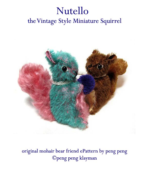 mohair squirrel pattern