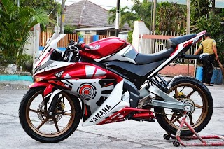 Modifikasi Motor New Yamaha Vixion