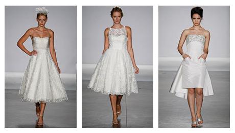 Short Wedding Dresses For